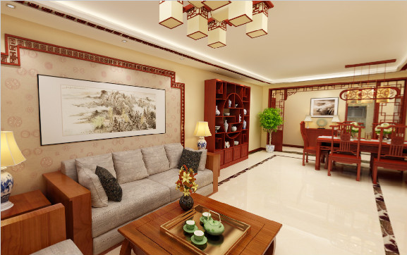 柳州中宅装饰新中式