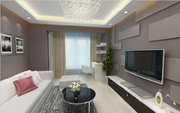 柳州中宅装饰户型图3D7